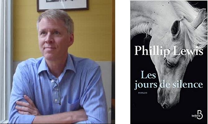 Interview de Philip Lewis pour son roman «Les jours de silence» !